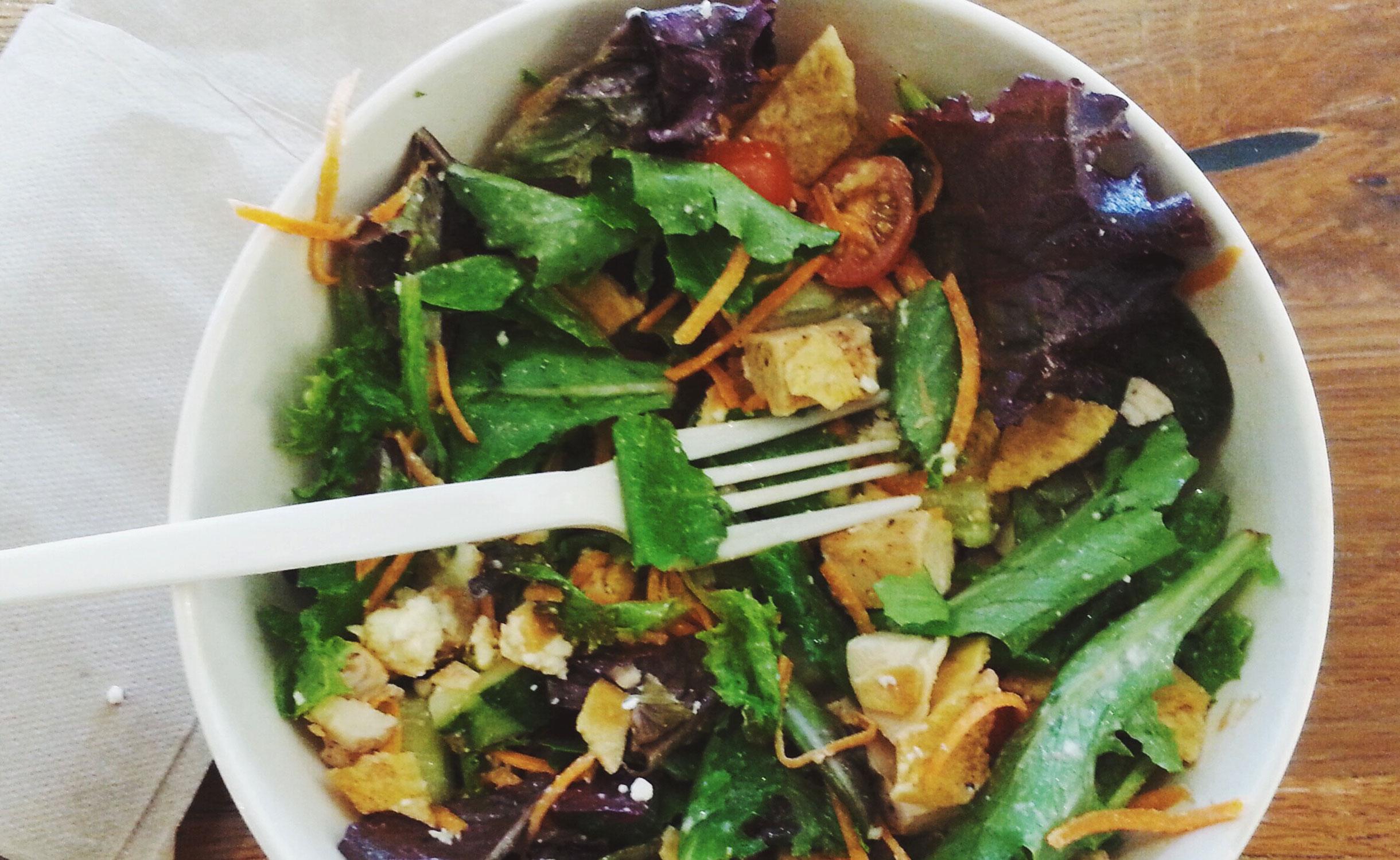 Blattsalat Mit Geröstetem Gemüse Lgv Frischgemüse