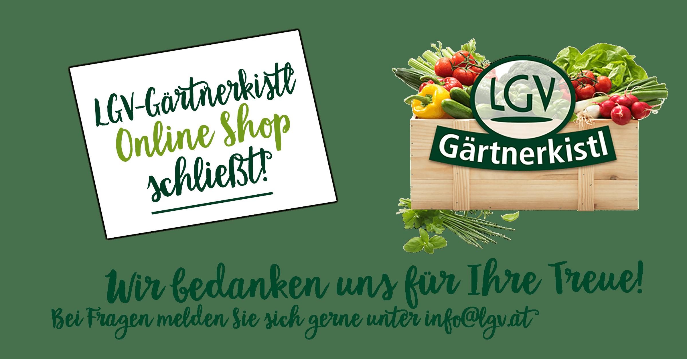 Goodbye Gärtnerkistl
