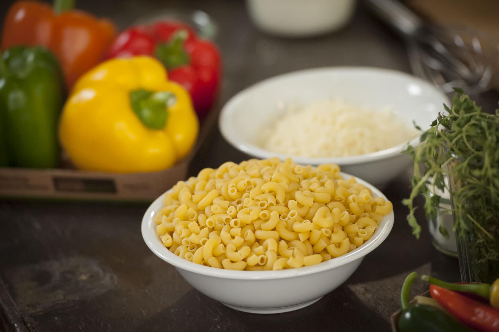 Spitzpaprika Mac'n'Cheese